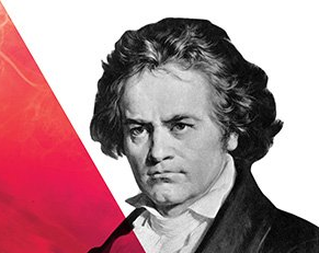 Poster art for Beethoven's 9th Symphony event
